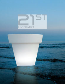 21st livingart outdoor lighting shapes collection