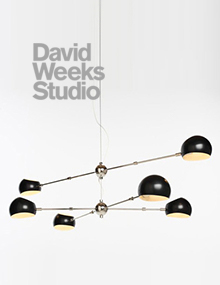 David Weeks Studio, Oval Boi Chandelier