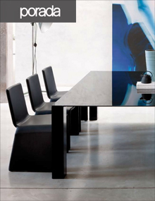 Porada Eleonora Chairs Black