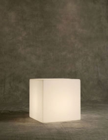 Cubo illuminated Cube, Modern Lighting Vancouver