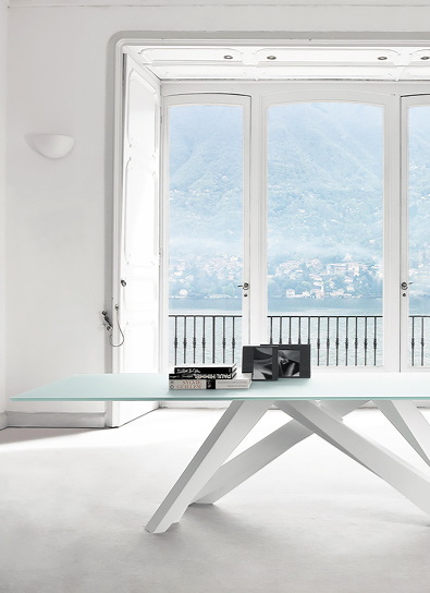 Bonaldo Big Table in All White