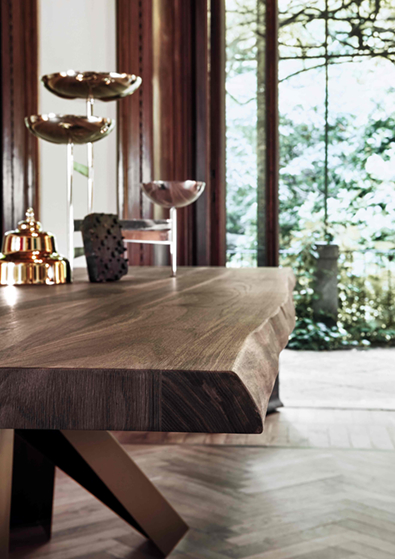 Bonaldo Big Table, Live Edge