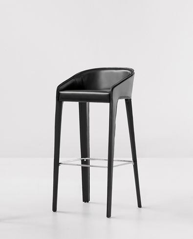 Bonalod Lamina Too Stool in hide leather