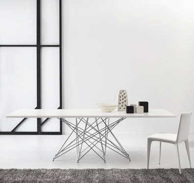 Bonaldo Octa Table White