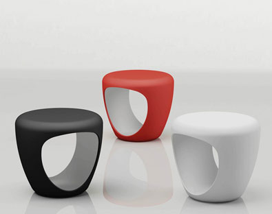 Bonaldo Pebble Stool