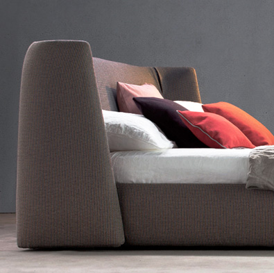 Modern Bed, Bonaldo Basket Bed detail