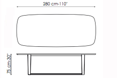 Bonaldo Medley Table 280
