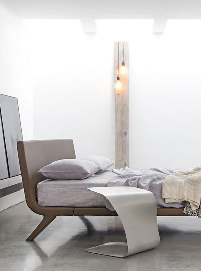 Modern Bed, Bonaldo Stealth Bed