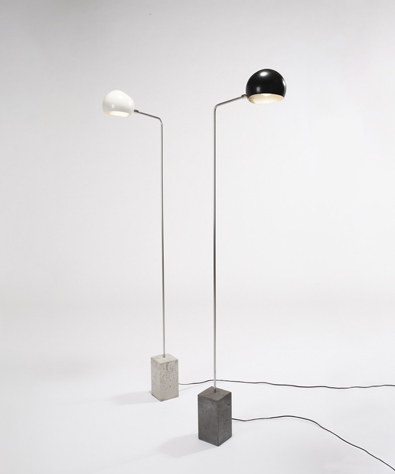 David Weeks Studio, Cement Standing Lamp