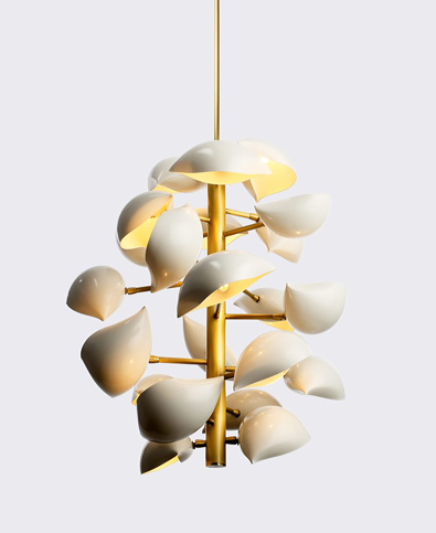 David Weeks Studio, New York, Lapa Suspended lamp