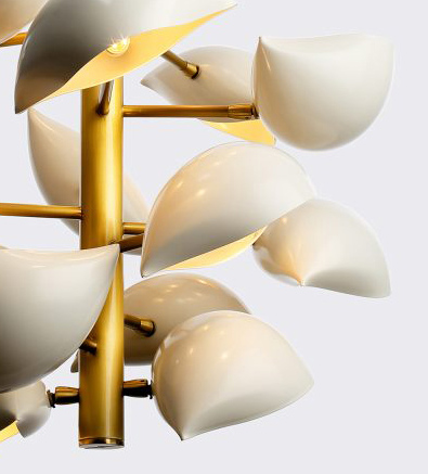 David Weeks Studio, New York, Lapa Suspended lamp detail