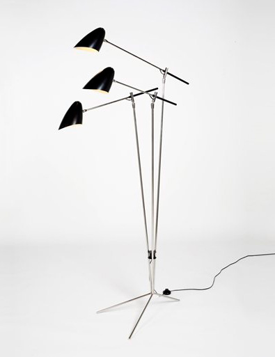 David Weeks Tripod Standing lamp