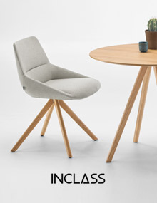 INCLASS Dunas XS Wood Swivel chair