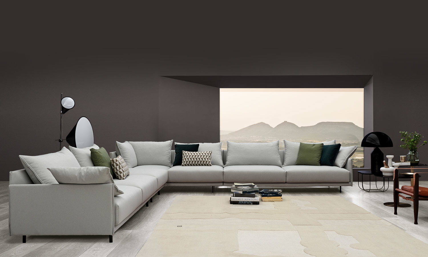 JOQUER Senso Sectional composition