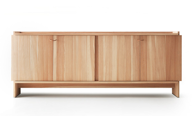 Lando Novella Cabinet in Larch