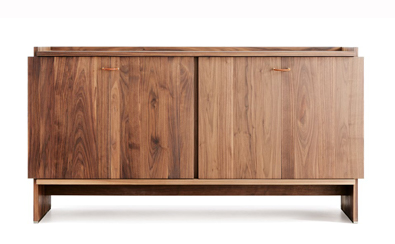 Lando Novella Cabinet in Walnut