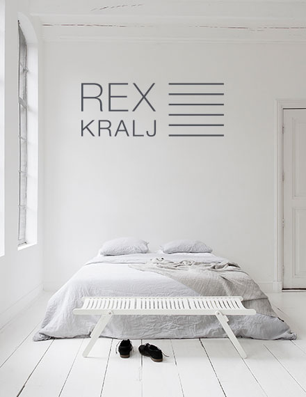 Rex Kralj Small Daybed White