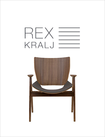 Rex Kralj Shell Wood Lounge