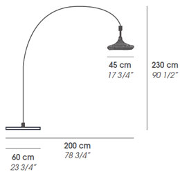 Accademia Nest Floor lamp