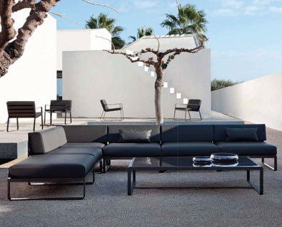 Bivaq Barcelona Sit Lounge Collection Tobacco