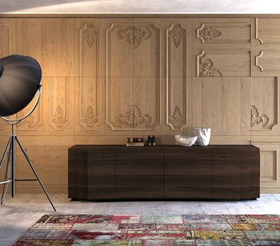 Emmemobili Layer Cabinet,  