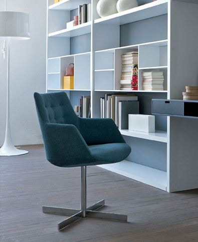 Estel Frighetto Divina Chair with Cross Base