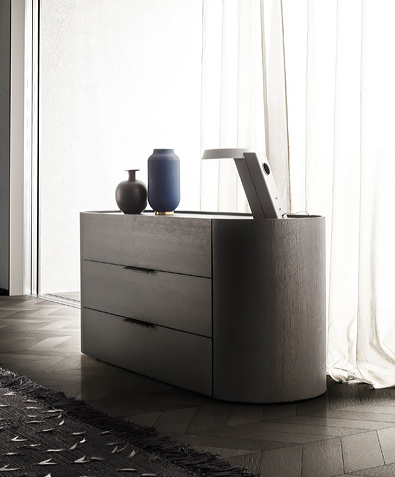 Pianca Dedalo Dresser with plinth base