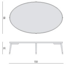 POrada Bigne 150 table