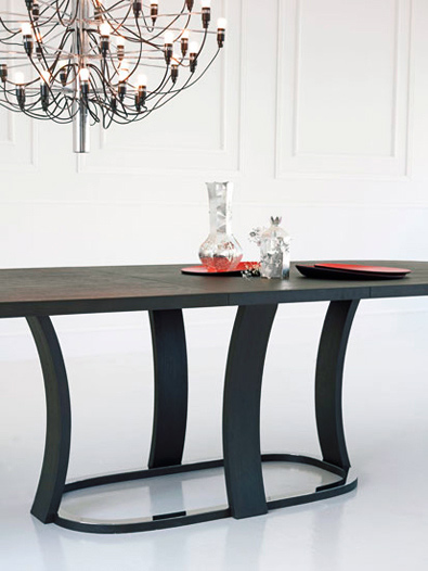 Potocco Grace Oval Table detail