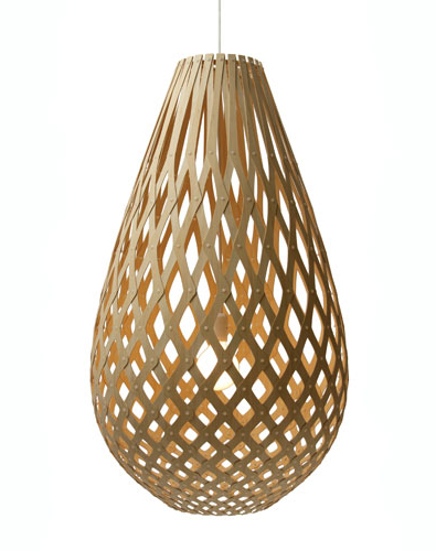 David Trubridge Koura Lamp